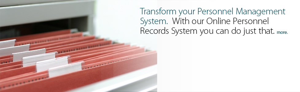 Get Personnel Records for your online managment system